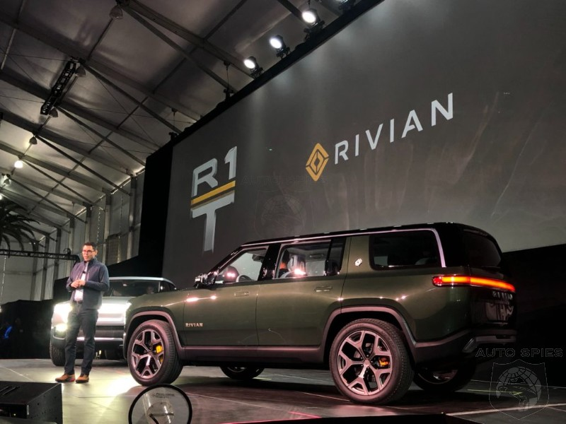Laautoshow Rivian S 4 Seat Ev Suv With 400 Mile Range