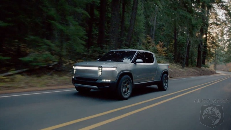 Rivian EV Truck To Challenge F-150 With Over 400 Mile Range