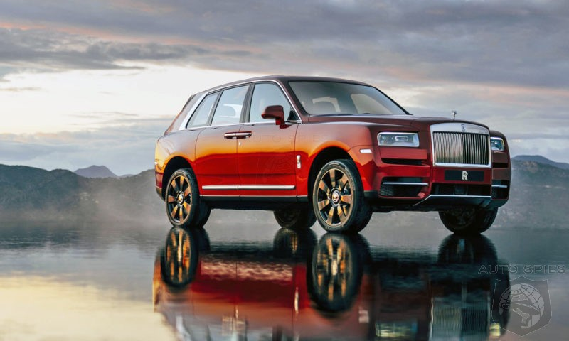 Rolls Royce Struggles To Keep Up With Demand For Cullinan SUV