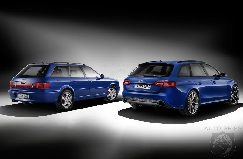 Audi Celebrates RS2 Avant With Commemorative RS4 Special Edition