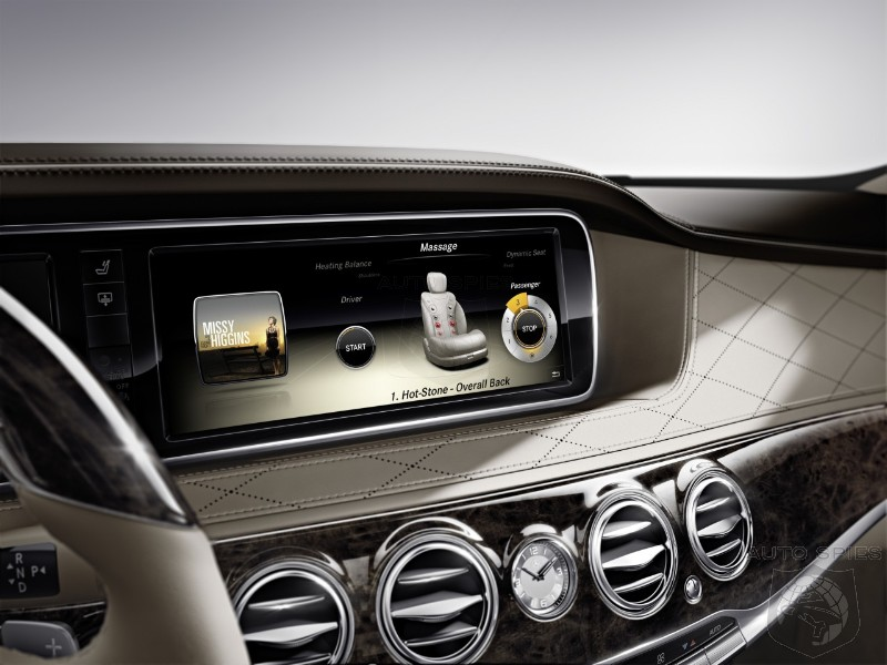 SNEAK PEEK: Will THIS Handcrafted Interior Take The 2014 S-Class To The Head Of The Class?