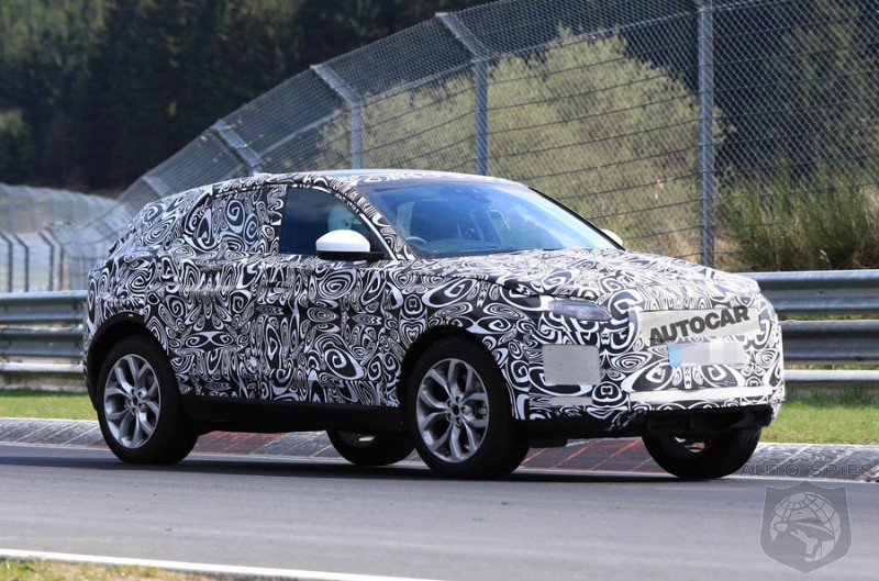 Jaguar E-Pace Caught In Final Stages Of Testing At Nürburgring