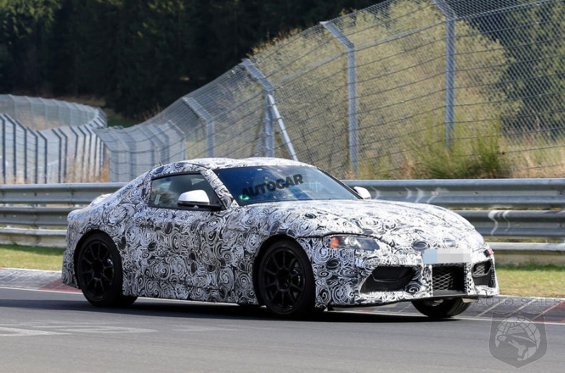 Enthusiasts No Longer Want To Shift Gears?  Toyota's Supra Will Be An Automatic  And Will Incorporate BMW Electronics When Possible