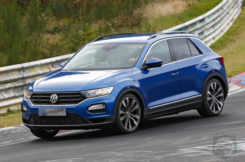Super Hot 306HP Volkswagen T-Roc R Caught Testing At Nürburgring