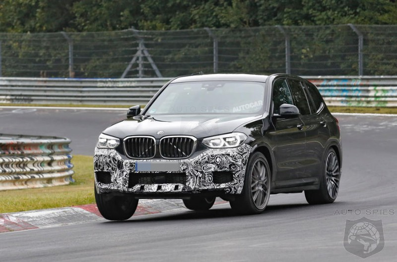 Does It Stand A Chance? BMW To Challenge The Macan With A 425 HP X3 M