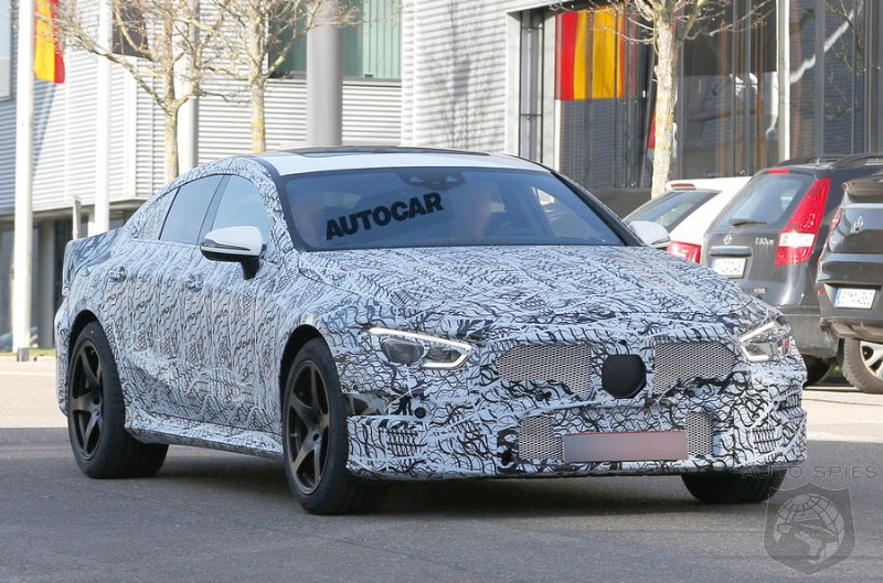 Mercedes AMG GT Four-Door Surfaces While Testing - Should The Panamera Start Worrying?