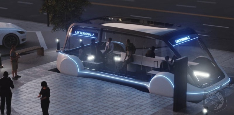 Tesla Confirms It Will Build Passenger Transport Pods For Boring Company's Transit Loop