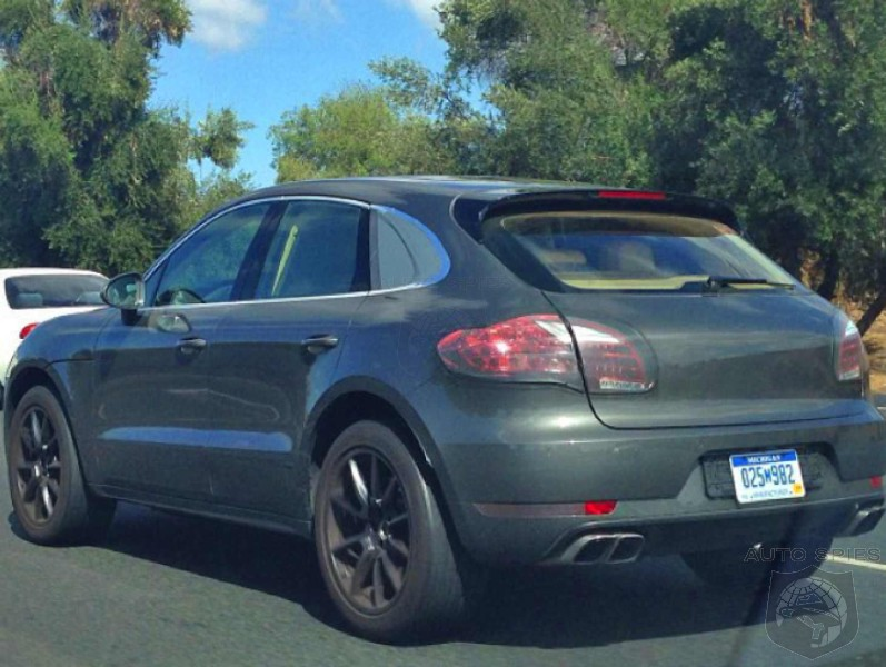 STUD OR DUD? Spy On The Prowl Catches Porsche Macan In The Buff