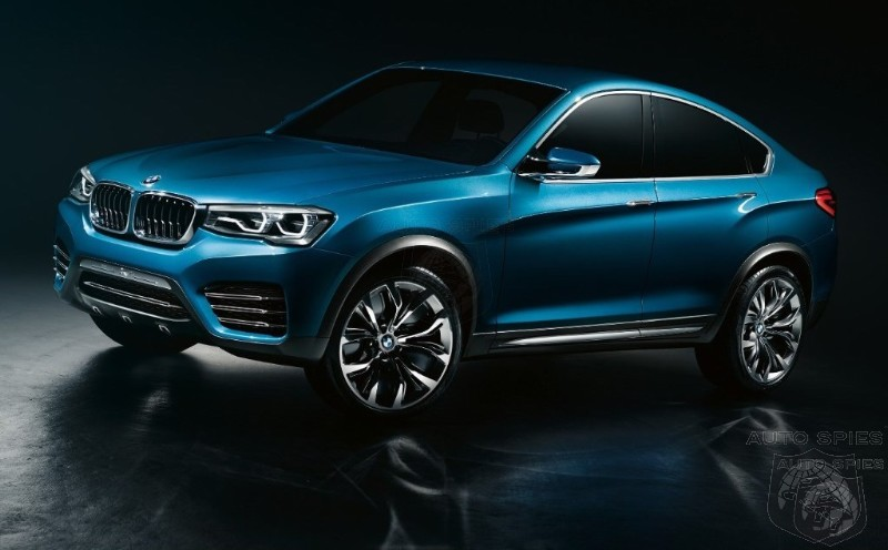 BMW X4 Concept Breaks Cover! Could The Biggest Threat To The 3-Series In 30 Years Come From...BMW?