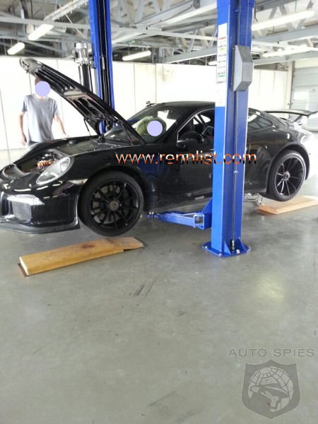 SCOOPED: Forum Reader Stumbles Across New 991 GT3 Undergoing Service