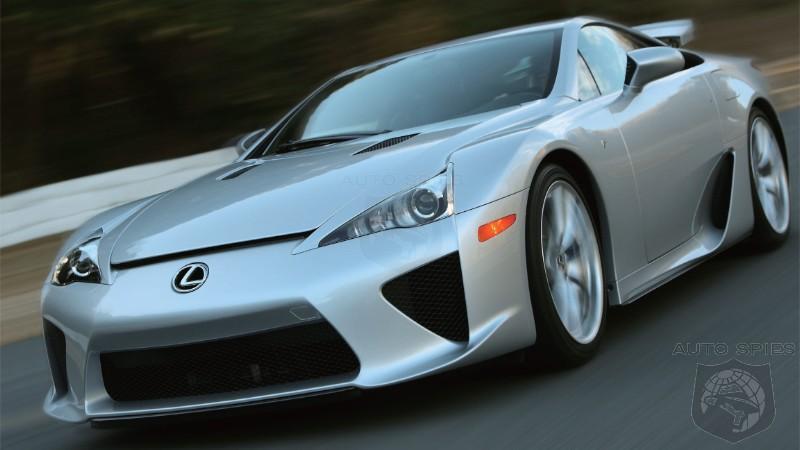The 400 000 Question Was The Lexus LFA A Flop Or Success As A Halo Car