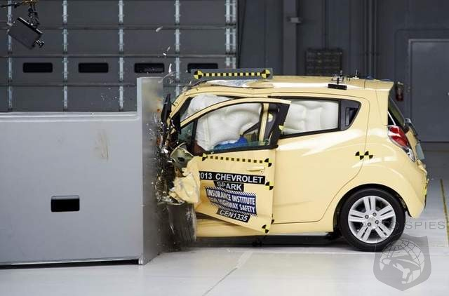 Chevrolet Spark Becomes The First Small Car To Ace IIHS Small Overlap Crash Test