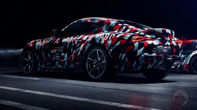 REALLY? Toyota Says New Supra Will Debut In Camouflage At Goodwood