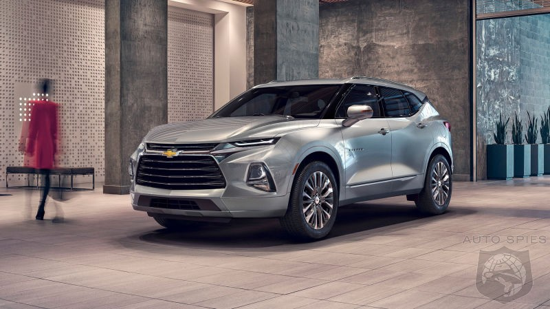 WHAT? Optioned Out 2019 Blazer Crossover Will Set You Back $49,000
