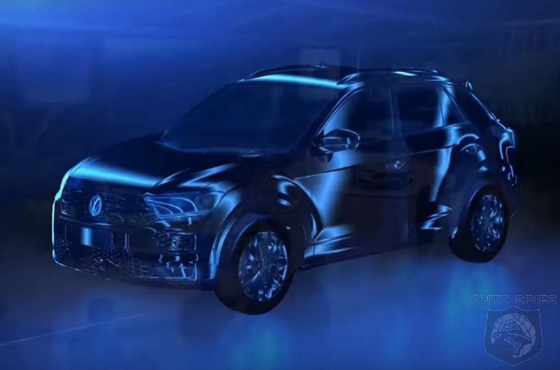 CGI Rendering Gives Clues To VW Crossover Design Direction