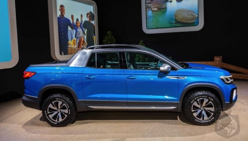 NYIAS Volkswagen Sees Chum In The Water With A Mid 20K Pickup Are They Right