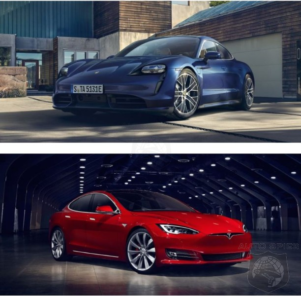 Tesla Model S Vs Porsche Taycan, Which Is The BETTER Sport Sedan?