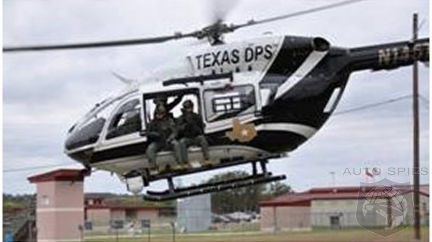 Texas DPS Backs Off Shooting Cars From Helicopters To Stop Suspects