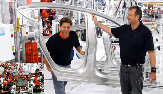Take An Inside Tour Of The Tesla Model-S Assembly Plant