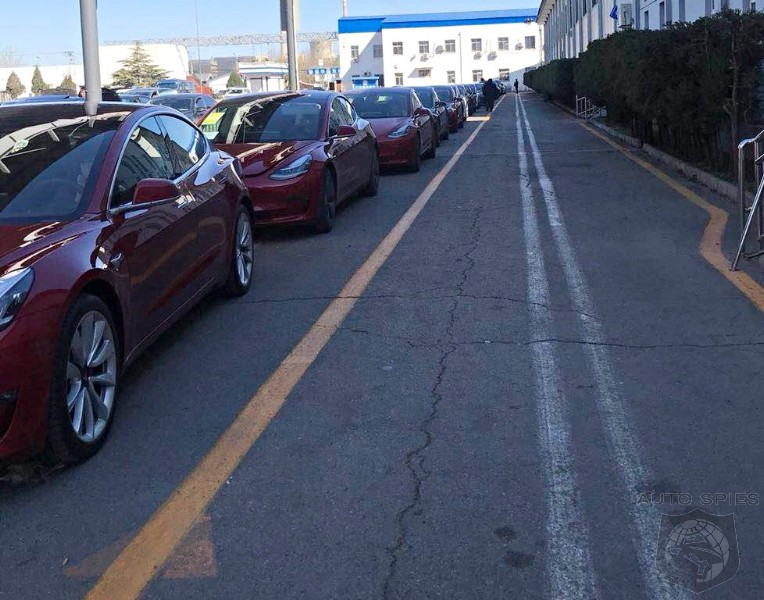 Tesla Model 3 Registrations Take Over Chinese DMV Offices