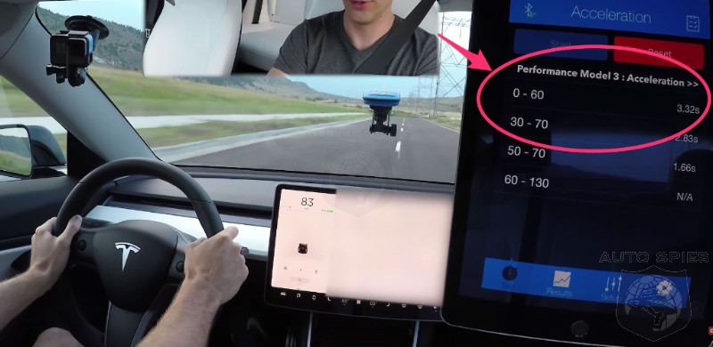 Telsa Model 3 Performance Delivers With 3.3 Sec 0-60 And A Sub 12 ...