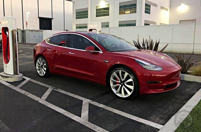 Just Months After The Germans Claim Tesla Isn't A Competitor The Model 3 Accounts For Over 50% Of Midsized Luxury Sales
