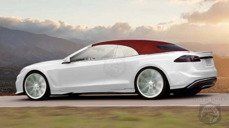 Coachbuilder Renders A Tesla Model S Roadster - Could It Give The Germans A Run For The Money?
