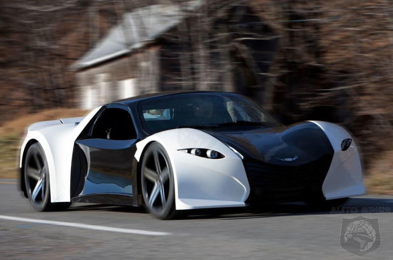 Canadian EV Upstart Planning To Release Tomahawk HyperCar In 2018