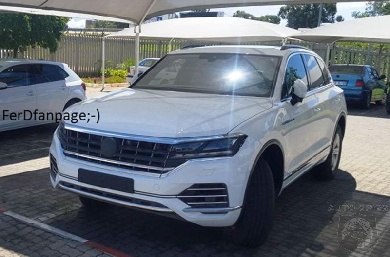 Volkswagen Upgrading Touareg To Better Challenge BMW And Mercedes Models