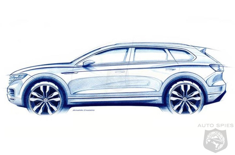 STUD OR DUD? All New And Larger Volkswagen Touareg To Debut Next Month In Beijing