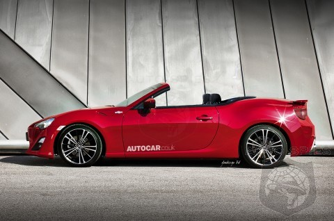 Toyota Hints That A GT86 Cabriolet Is In The Works