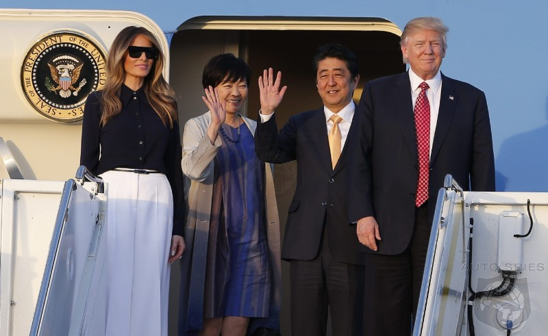 Contrary To Media Reports, Trump Knows EXACTLY Which Japanese Brands Build In the US