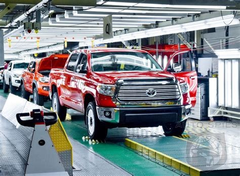 Toyota To Invest $749 Million In Five US Factories