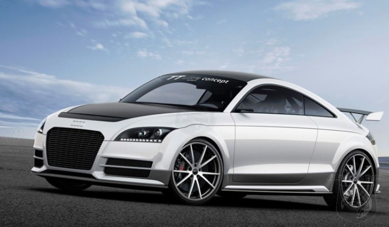 Audi Goes Hardcore With Lightweight TT Ultra Quattro Concept - Should Porsche Be Worried?