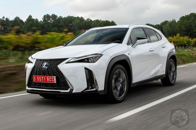On A Roll: Lexus Expects A 20% Jump In UK Sales This Year