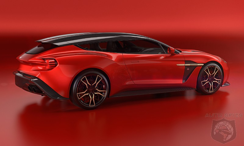 Aston Martin S Vanquish Zagato Shooting Brake Will Make You Put Your