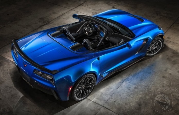 NEW YORK AUTO SHOW: Chevrolet Drops The Top On The 625 HP 2015 Corvette Z06 Convertible