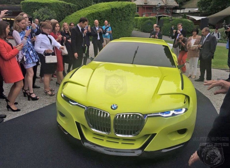 SPIED First Real Life Shots Of BMW 3 0 CSL Hommage Concept