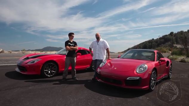 SRT Viper Vs. Porsche 911 Turbo: Will The REAL Sports Car Please Stand Up?
