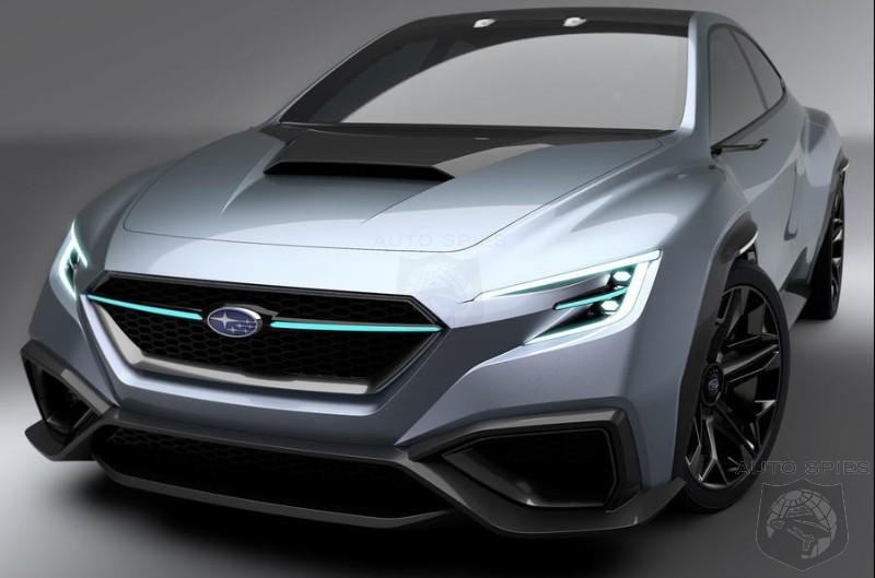 Next Gen Subaru WRX STI To Be A Performance Hybrid