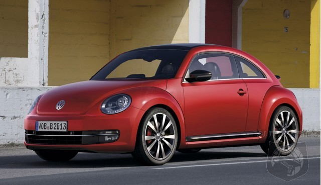 Volkswagen Recall 2,500 Beetles For Defective Airbag Sensor