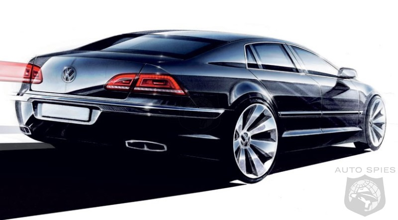 Who Wants A Vw Limousine New Phaeton Delayed To Seek Production