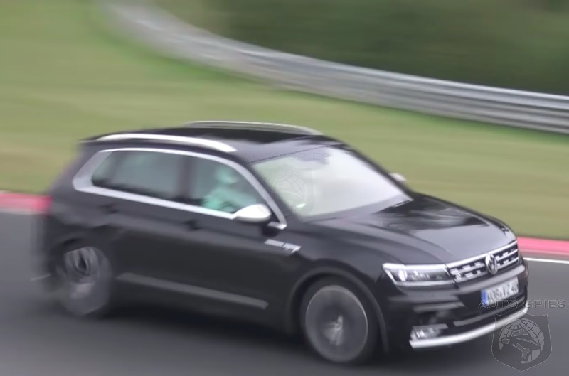 Your Next Family Hauler? Ultra Hot Audi Powered 5 Cylinder Tiguan R Caught Testing At Nürburgring