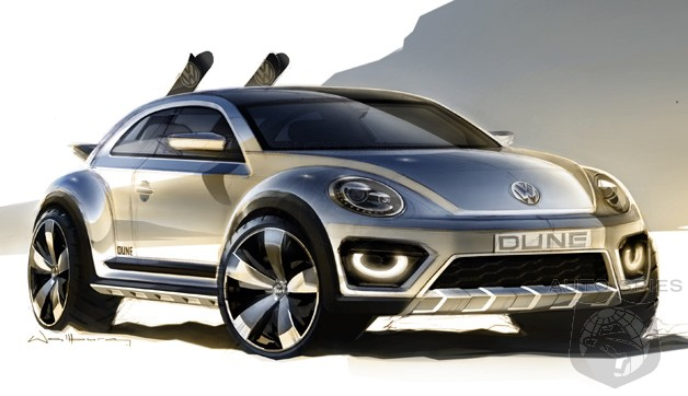 Beetle Dune Concept Takes Off Roading To a New Level