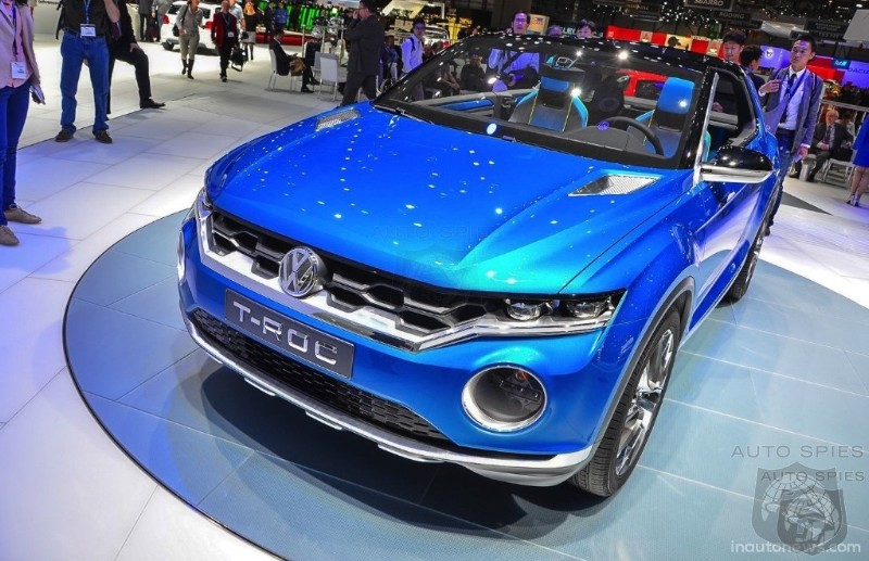 The SUV Assault Continues: Volkswagen To Bring T-Roc Crossover To US Market In 2019