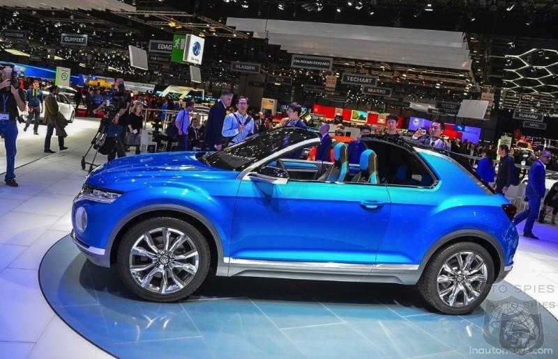 Geneva Motor Show Volkswagen S T Roc Concept Lets The Sun