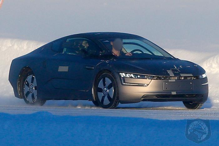 volkswagens  mpg  caught undergoing scandinavian winter testing autospies auto news