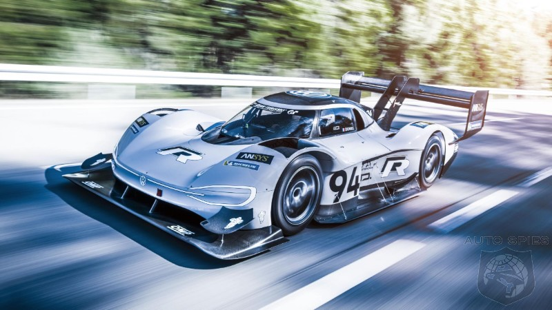 Volkswagen Seeks To Obliterate Nürburgring EV Lap Record With VW ID R