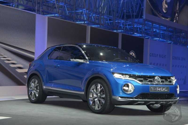 Volkswagen To Debut Production Version Of T-ROC Crossover Next Week