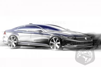 2015 VW Passat Aims To Be New Benchmark By Blending CC And Sedan Into One Package